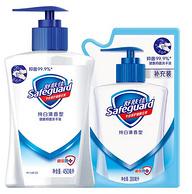 舒膚佳 純白清香型洗手液 450ml+300ml補充裝