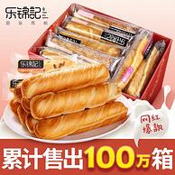 乐锦记 手撕棒面包 750g