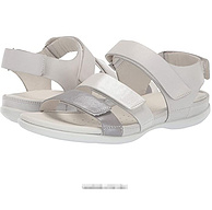 US5-5.5碼,ECCO 愛步 閃耀系列 243943 女士休閑魔術貼涼鞋