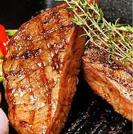 进口牛肉:80gx10片 大希地 黑椒牛排套餐