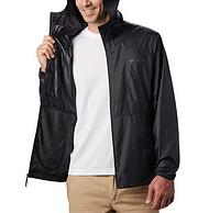 亞馬遜銷冠!Columbia哥倫比亞 Flashback 男士 連帽防風夾克沖鋒衣