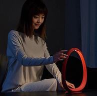 专利外观+极简主义设计:网易智造 星云环形床头灯