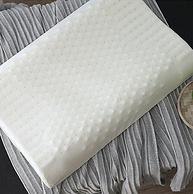 今晚0点,水星家纺出品:百丽丝 泰国天然乳胶枕 人体工学枕