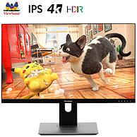4K、HDR10:ViewSonic 优派 VX2780 27英寸 IPS显示器