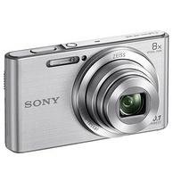 8倍蔡司变焦,自带美颜:SONY索尼 便携数码相机 DSC-W830