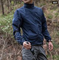 防水防风:执政官 男士战术皮肤风衣