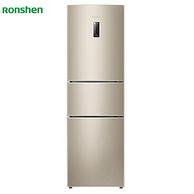 Ronshen 容声 BCD-220WD15NP 风冷无霜 三门冰箱 220L