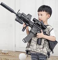 1萬顆水彈:m416 兒童突擊步槍