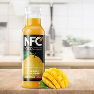 100%鲜榨:农夫山泉 NFC果汁 芒果混合汁 300mlx4瓶x8件