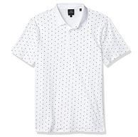 阿瑪尼副牌,A|X Armani Exchange 男士 修身印花短袖針織Polo衫 Prime直郵到手292元(天貓518元)