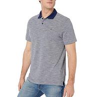 100%珠地棉:Calvin Klein 卡尔文·克莱 男士 休闲POLO衫