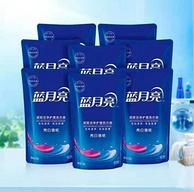 蓝月亮  机洗专用薰衣草香型洗衣液补充装 500gx10袋