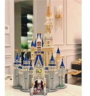 买手甄选团 75cm半人高 4000多粒 高契合度 分步骤拆包:迪士尼城堡