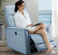 值哭 真皮太空舱:左右 真皮功能沙发单椅 手动款/电动款 DZY5033