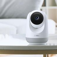 360°全景+智能移动追踪:360 D806 1080P 云台摄像头