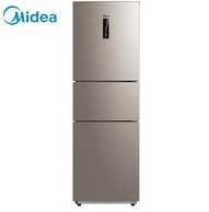 核心部件10年换新:Midea 美的 BCD-228WTPZM(E) 三门冰箱 228升