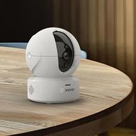 新低!天猫精灵联动,人形侦测+双向语音:海康威视 萤石 CP1智能云台摄像头