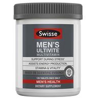 镇店之宝 120片x3盒 Swisse 男性复合维生素片