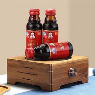 补券,韩国百年国礼品牌,增强免疫:100mlx10瓶 正官庄 6年根高丽参元液