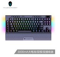 双模连接,3000mAh电池:雷神 KL30 RGB 无线机械键盘(雷神TR茶轴、PBT)