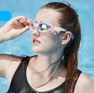 国际泳联合作品牌 浩沙 高清防雾泳镜
