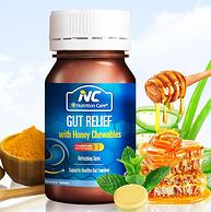 澳洲断货王养胃片,每粒450亿活菌:60粒 Nutrition Care 蜂蜜养胃咀嚼片