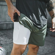 买手甄选团、出口欧美、健身必备:夏季健身运动速干训练裤