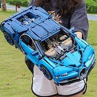 买手甄选团 炸街 比911更大 57cm超长 4000+粒:布加迪 高逼格跑车