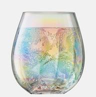 纯手工制作,每一口都是彩虹:英国LSA Pearl彩虹泪珠 珍珠贝母炫彩水杯