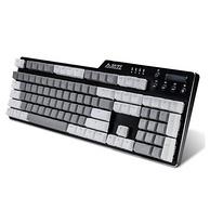 铝合金边框+青轴+背光:AJAZZ黑爵 刺客Ⅱ 合金机械键盘AK35i