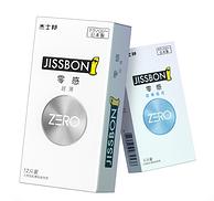 猫超销售 18只x2件:日产 杰士邦 ZERO零感超薄安全套