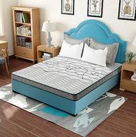 12点开始:SLEEMON 喜临门 艾比 抗菌防螨床垫 180x200x15cm