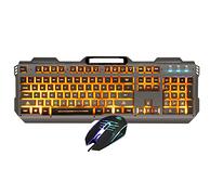 白擦价:灵蛇 MK210 键盘鼠标套装
