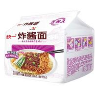 白菜价!统一  老北京炸酱面 5连包