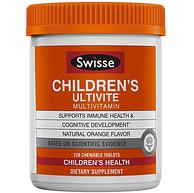 2-12岁,SWISSE 儿童 Ultivite每日综合维生素 橙味 120粒