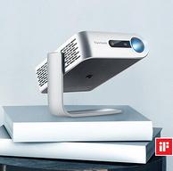 今晚0点,红点设计奖,仅手掌大小:ViewSonic优派 M1+ 智能便携投影机