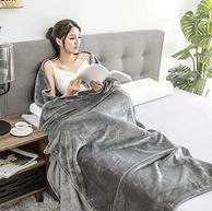 京东京造 法兰绒超柔毛毯 150x200cm