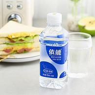 0糖无汽弱碱,350mlx24瓶 依能 原味西柚味性苏打水