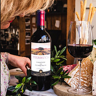 智利原瓶进口,南美第二大酒庄出品:750mlx6瓶 玛琪古 佳美娜 干红葡萄酒