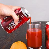 310mlx12罐 番倍爽 0脂肪 新疆新鲜无添加原榨番茄汁 纯果蔬汁
