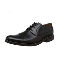 多码好价,全粒面牛皮,EVA缓震大底:Clarks其乐 男士 Becken Cap德比鞋 商务休闲皮鞋