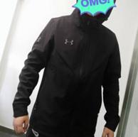 强推!防水、显瘦、加绒、小Q自留:安德玛 男子软壳冲锋衣夹克外套