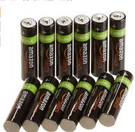 Z秒杀 AmazonBasics 亚马逊倍思 AAA型(7号)镍氢可充电电池(12节,800 毫安)