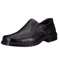 全粒面牛皮,防水透气:ECCO爱步 Helsinki 男士 一脚蹬皮鞋 乐福鞋