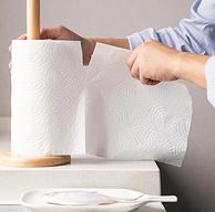 日本优良设计大奖,小米生态链:2层x75节x10卷 柚家 食品级竹浆厨房吸油卷纸 券后24.9元包邮