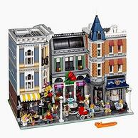 1日0点:小神价!4002块!LEGO 乐高 创意百变街景 10255 10周年集会广场