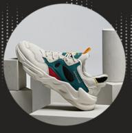 神价格!18款可选!2双 斯潘迪 2020新款女士透气网眼皮革拼接运动鞋 限0~2点新低148元包邮