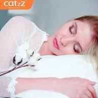 分性别枕头 CatzZ 瞌睡猫 舒适回弹纤维枕