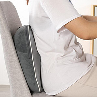 无线全自动、揉捏+热敷:日本 石崎秀儿 腰部按摩靠枕