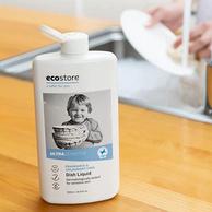 白菜价!11日0点,澳洲蓝蝴蝶低敏认证:500mlx3瓶x2件 Ecostore 宝宝专用无香洗洁精